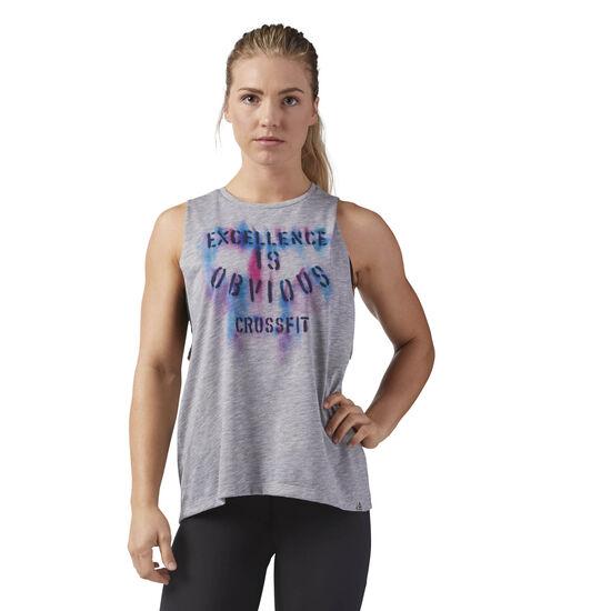 Reebok - Reebok CrossFit Excellence Muscle Tank Medium Grey Heather CF5742