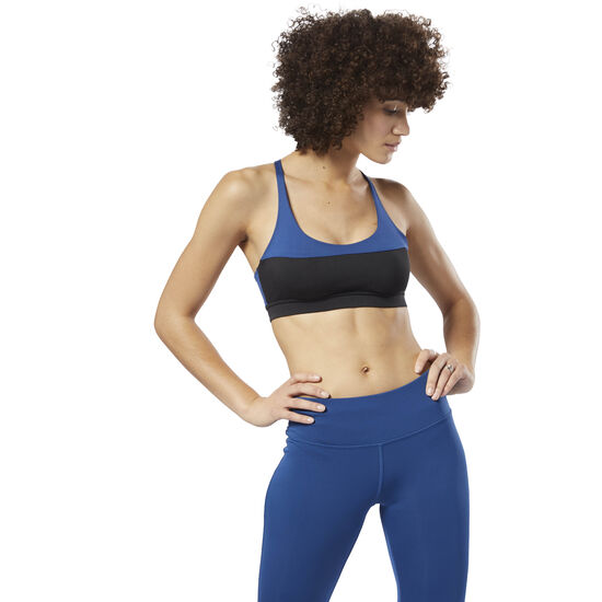 Reebok - Workout Ready Bra Bunker Blue D95500