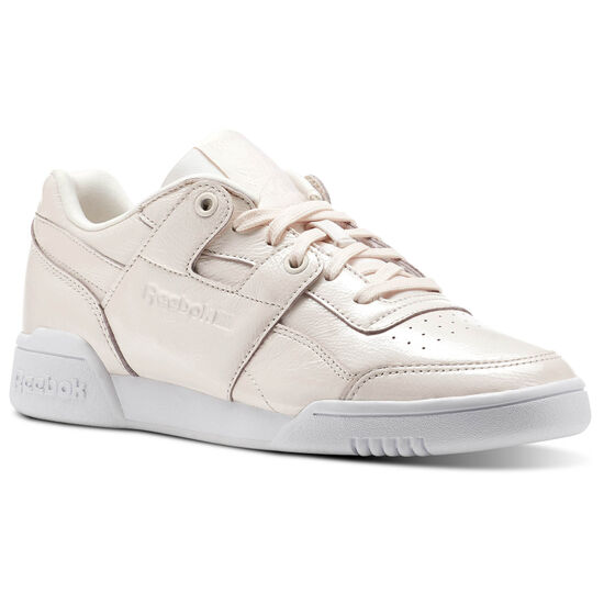 Reebok - Workout LO PLUS IRIDESCENT Pale Pink/White CM8951