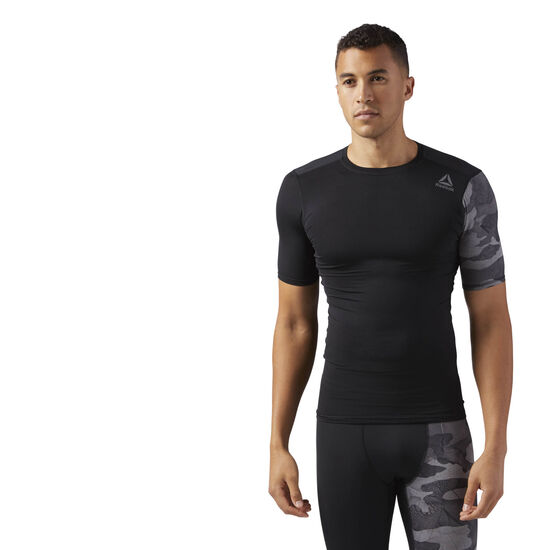 Reebok - ACTIVCHILL Graphic Compression Tee Black CF2977