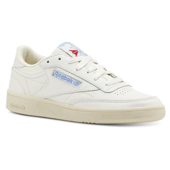 Reebok - Club C 85 Vintage-Chalk/Paper Wht/Athletic Blue/Exc Red CN5464