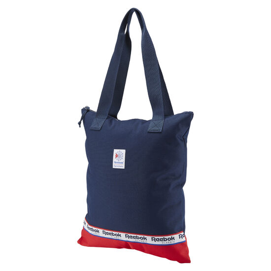 Reebok - Classics Women's Graphic Tote Collegiate Navy / Primal Red DH3569