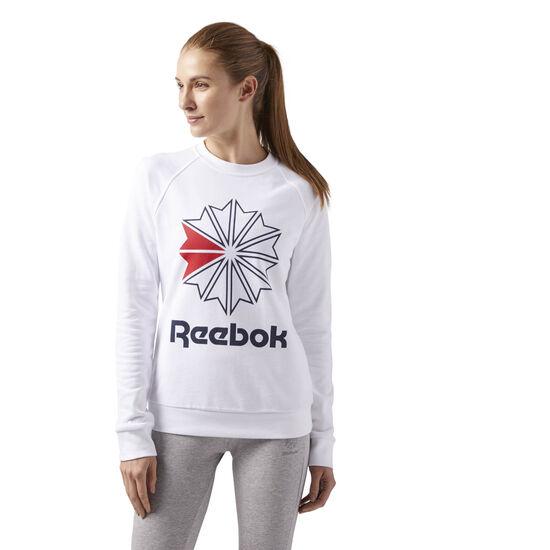 Reebok - F STARCREST CREWNECK White CY4712