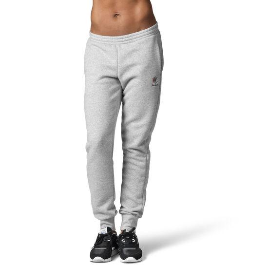 Reebok - Reebok Classics Franchise Fleece Pants Medium Grey Heather / Black DH1378