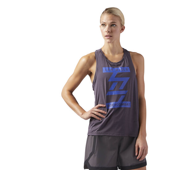 Reebok - LES MILLS BODYCOMBAT Performance Tank Smoky Volcano CD6224