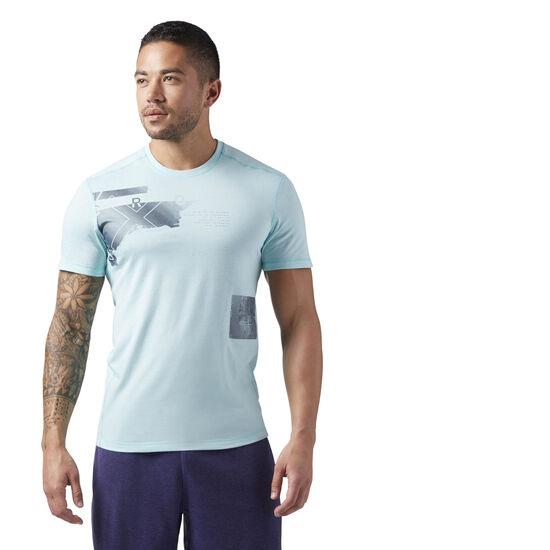 Reebok - Reebok CrossFit Burnout Tee Turquoise CD4487