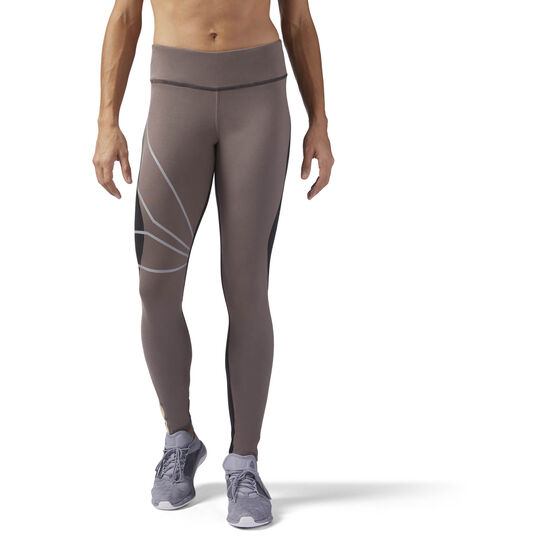 Reebok - Running Tights Brown/Smoky Taupe CD5458