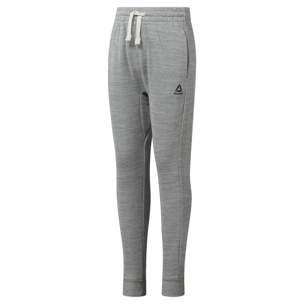 Girls Training Essentials Marble Melange Sweatpant Grey DJ3059