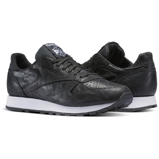 Reebok - Classic Leather Celebrate the Elements Pack Black/Gravel/White BS5257
