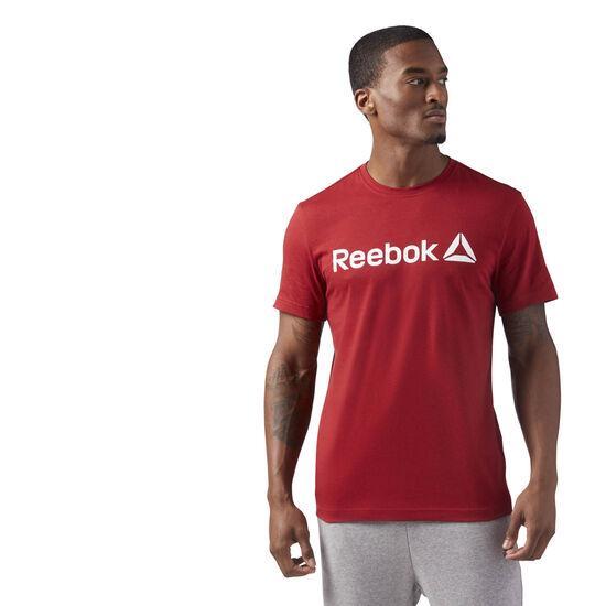 Reebok - Reebok Logo Tee Rich Magma CF3899