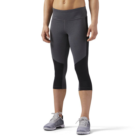 Reebok - Workout Ready Capri Dark Grey Heather CE4446