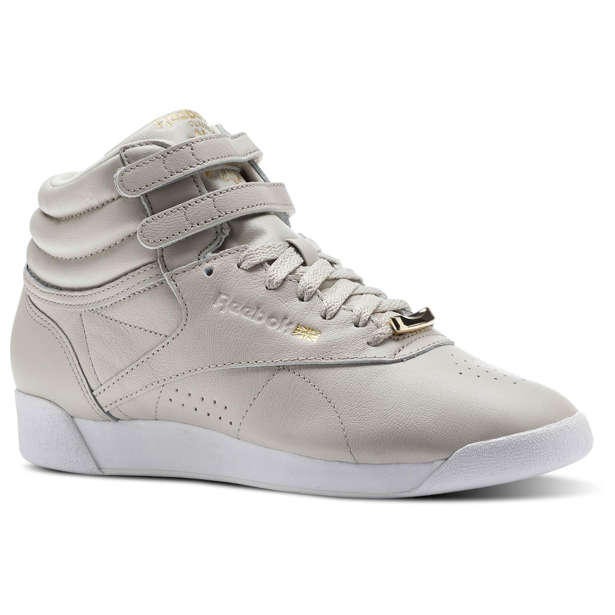 Reebok - Freestyle HI MUTED Beige/Sandstone/White CN1496