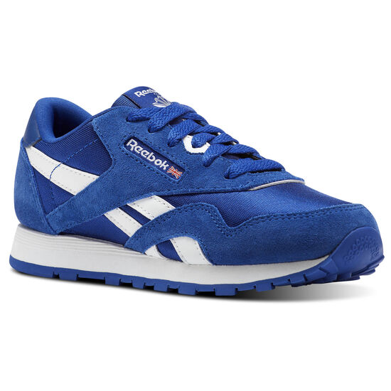 Reebok - Classic Nylon - Pre-School Collegiate Royal/White CN1268