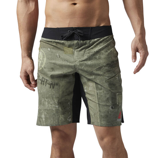 Reebok - Reebok Spartan Race Shorts Ashen Green/Black BR2091