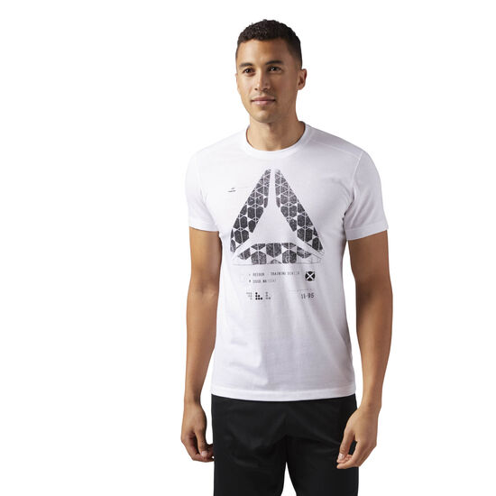 Reebok - Speedwick Graphic Tee White CF3737