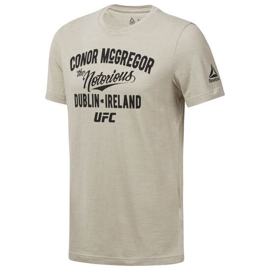 Reebok - UFC Pride Of Tee - McGregor Parchment D95837