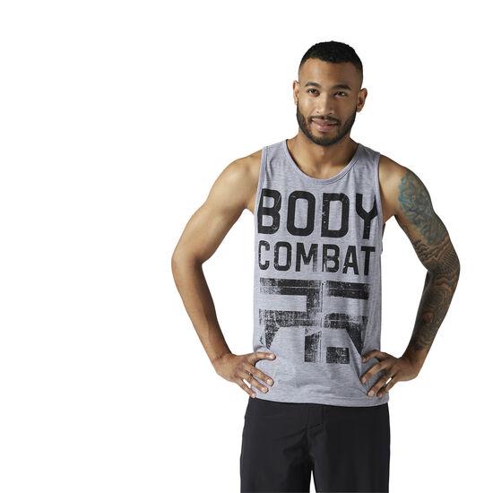 Reebok - LES MILLS BODYCOMBAT™ Tank Medium Grey Heather CE6772