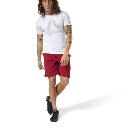 Reebok - Speed Shorts Cranberry Red D93739