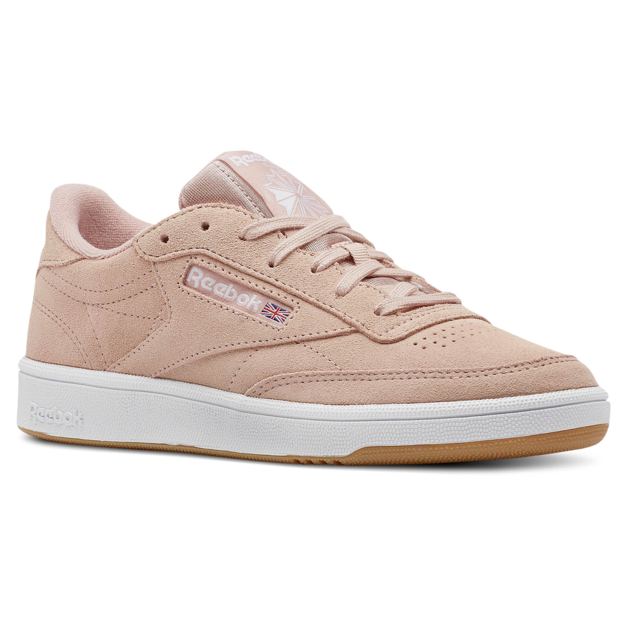 Schuhe Reebok - Club C 85 CN5202 Peach Twist/Gum/White iwVht