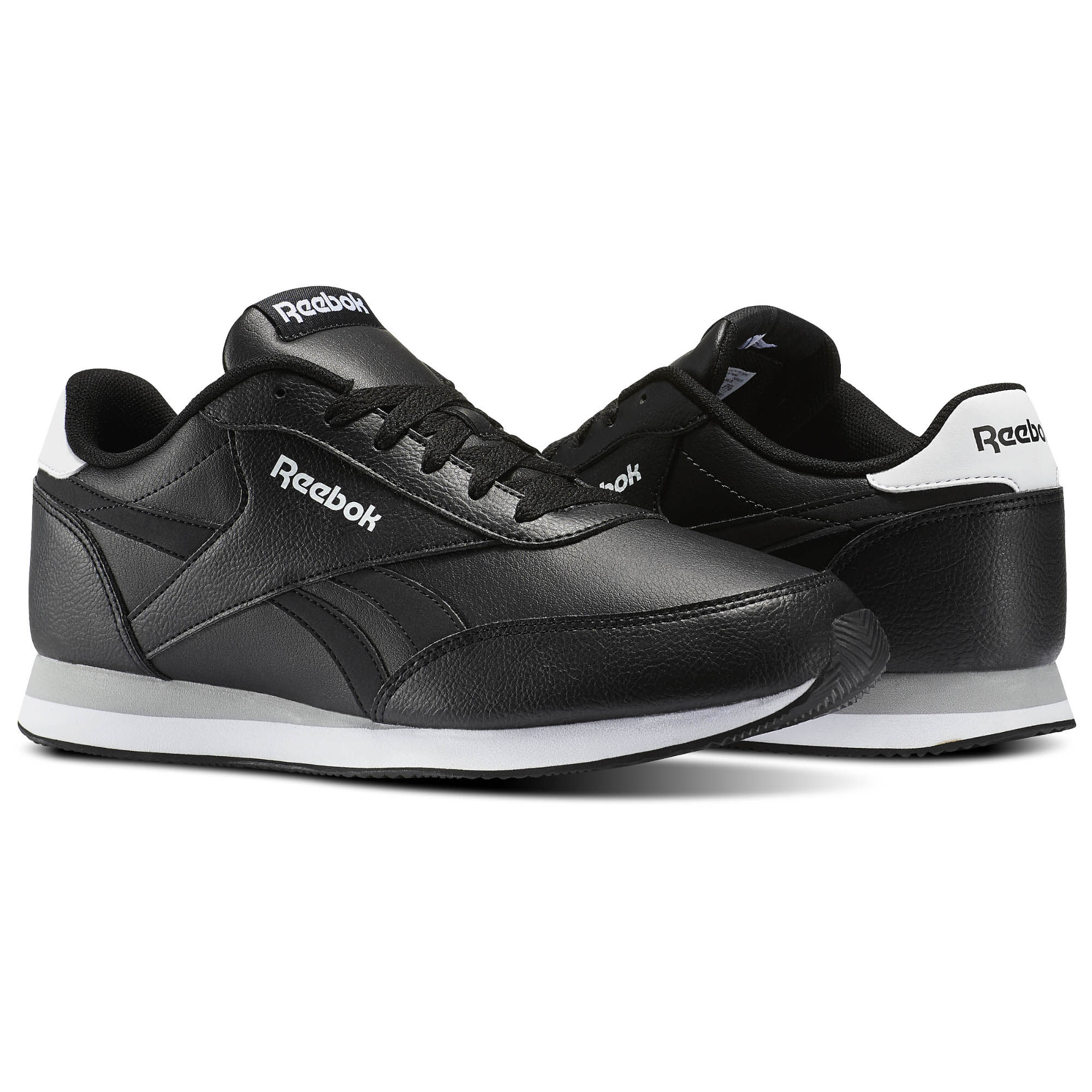 Reebok - Reebok Royal Classic Jogger 2L Black/White/Flat Grey V70722