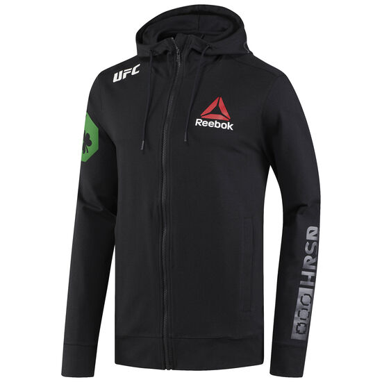 Reebok - UFC Fight Night McGregor Walkout Hoodie Black/Chalk CD8574