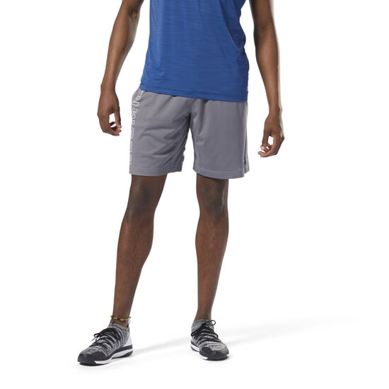 Reebok - LES MILLS™ Mesh Basketball Shorts Shark DJ2218
