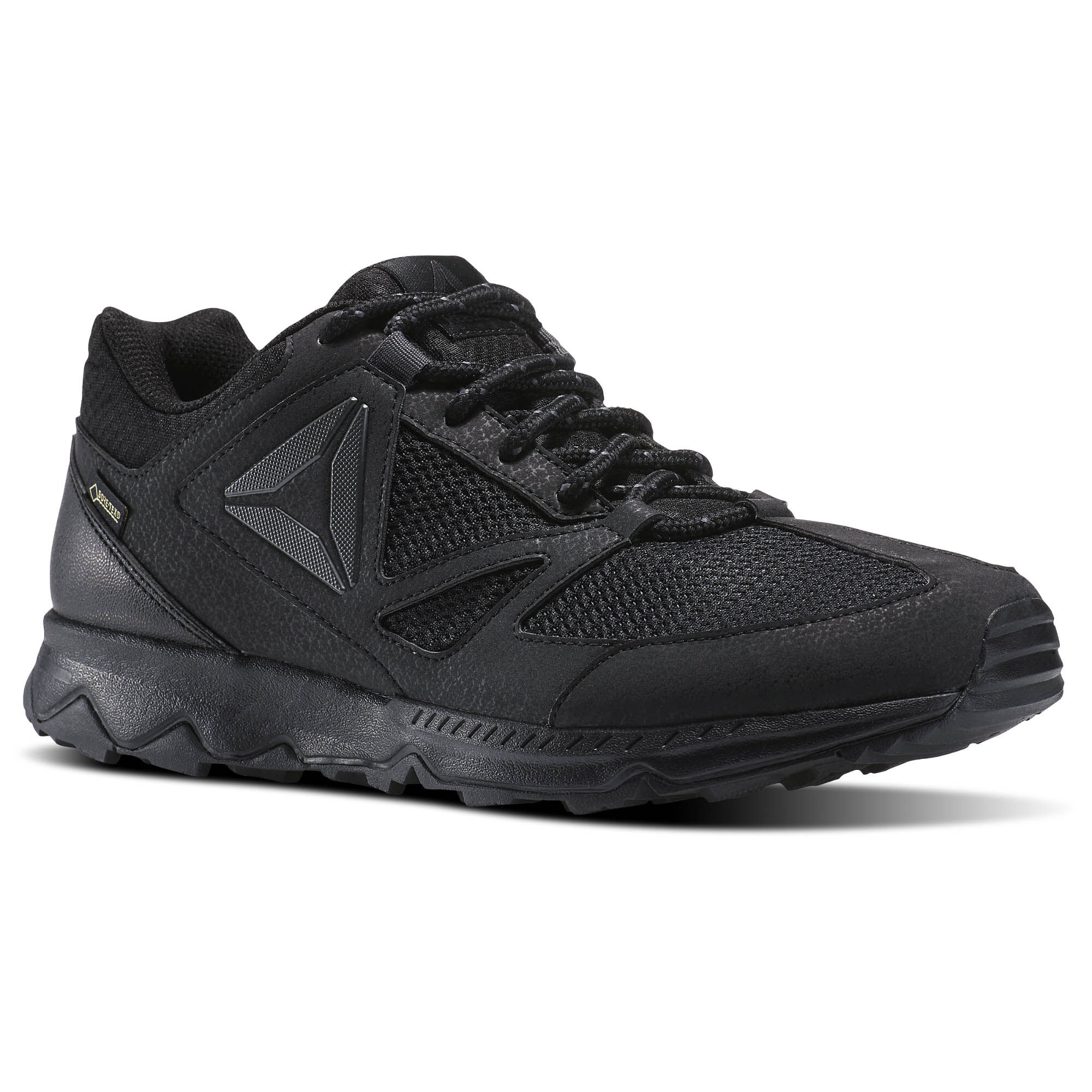 Reebok SKYE PEAK GTX 5.0 - Walking trainers - black/ash grey/coal