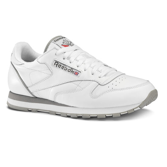 Reebok - Classic Leather ARCHIVE White/Carbon/Red/Grey CM9670