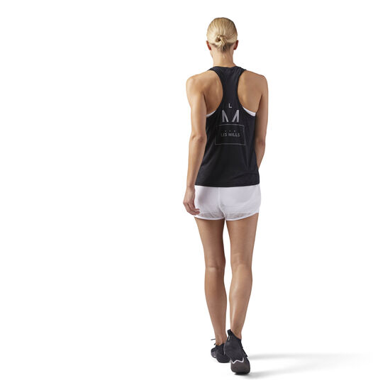Reebok - LES MILLS Perforated Tank Black CD6165