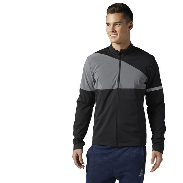 Running Icon Jacket Black BR2040