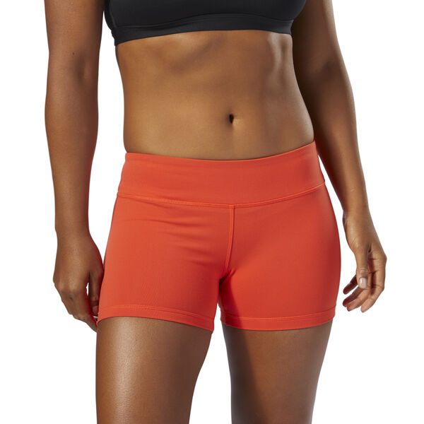 Reebok CrossFit Chase Bootie Shorts Orange DH6707