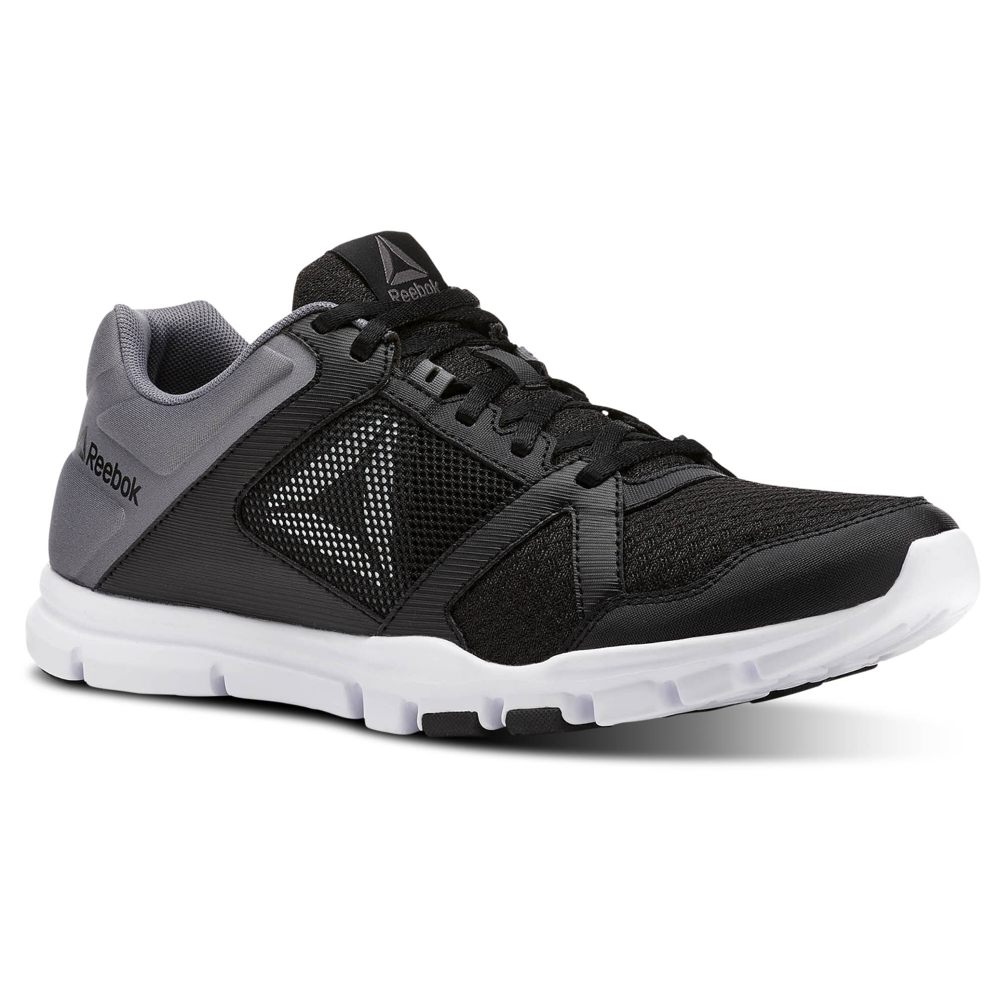 Reebok YOURFLEX TRAIN 10 MT - Sports shoes - black/shark/white 13gMiDCYI