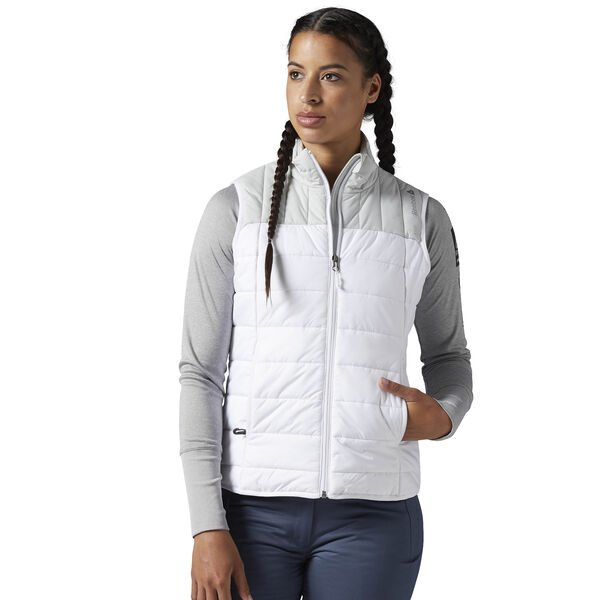 Outdoor Padded Vest White CF9317