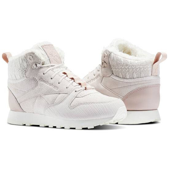 Reebok - Classic Leather Arctic Boot Pink/Lilac Ash/Shell Pink/Peach Twist/Chalk BS6274