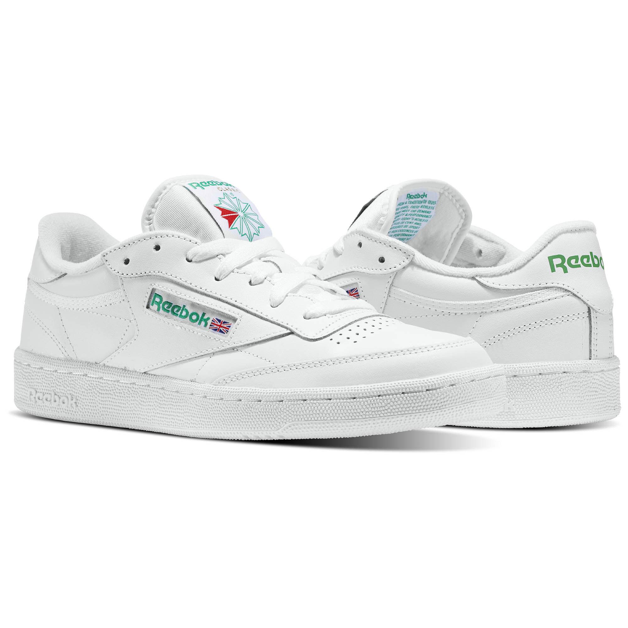 Reebok - Club C 85 Intense White/Green AR0456