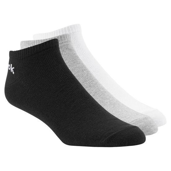 Reebok - Reebok No Show Sock - 3pair Medium Grey Heather AB5278
