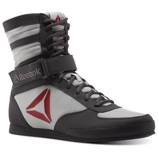 Reebok - Reebok Boxing Boots Ash Grey/Skull Grey/Excellent Red/White CN2277