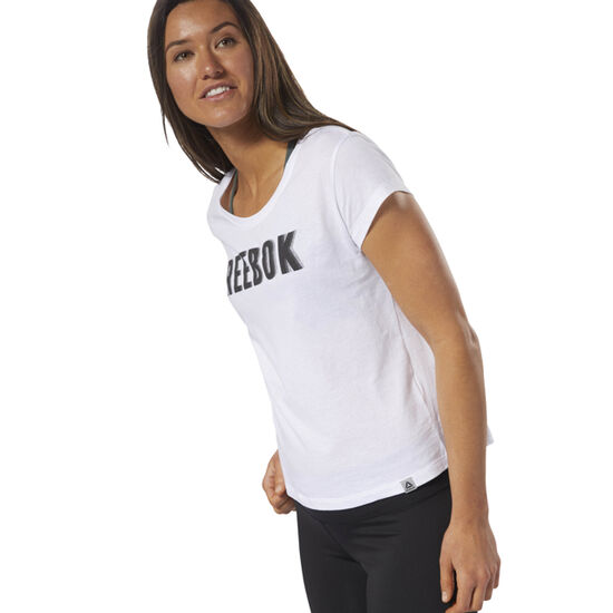 Reebok - Movement Tee White DN8109