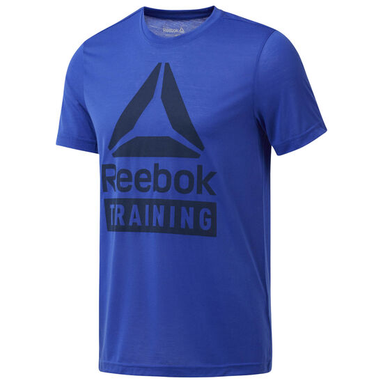 Reebok - Training Speedwick Tee Acid Blue CF3901