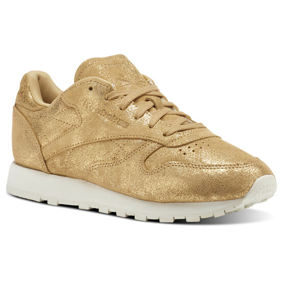 Reebok - Classic Leather Shimmer Gold/Chalk CN0574